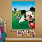 Fathead Disney Mickey Mouse Clubhouse Wall Mural Wayfair