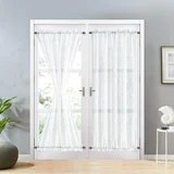 barn door curtains wayfair