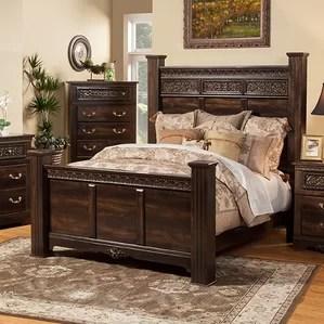 solid wood bedroom furniture | wayfair