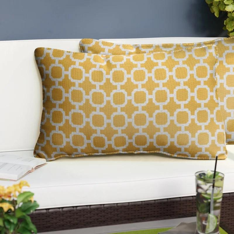 Dierks Outdoor Rectangular Pillow Cover & Insert (Set of 2)