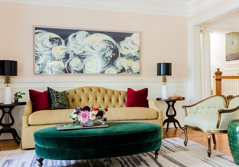 ideas for decorating a large wall in living room modern country how to decorate wayfair ca artwork design kmid