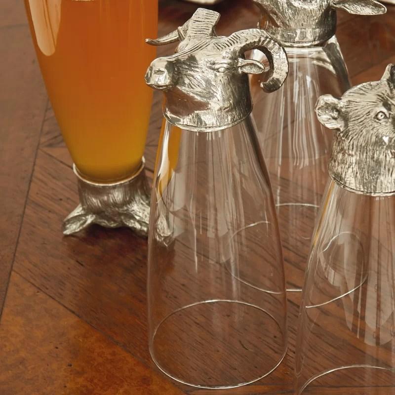 Animale 16 oz. Pilsner Glass