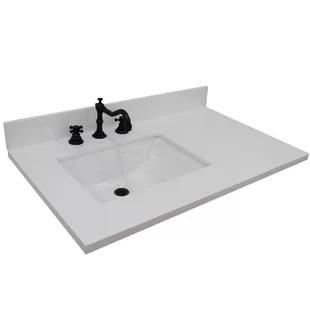 left offset sink vanity tops you ll