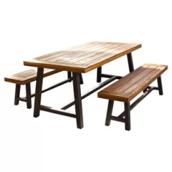 3 Piece Outdoor Table And Chairs Cracker Barrel Modern Dining Sets Allmodern Quickview