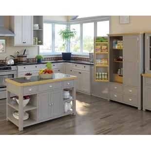 kitchen islands uk lighting pendants for trolleys you ll love wayfair co harris island with granite top
