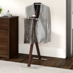 Bedroom Wardrobe Chair Valet King Throne Manufacturers Stand Wayfair Bache Metal