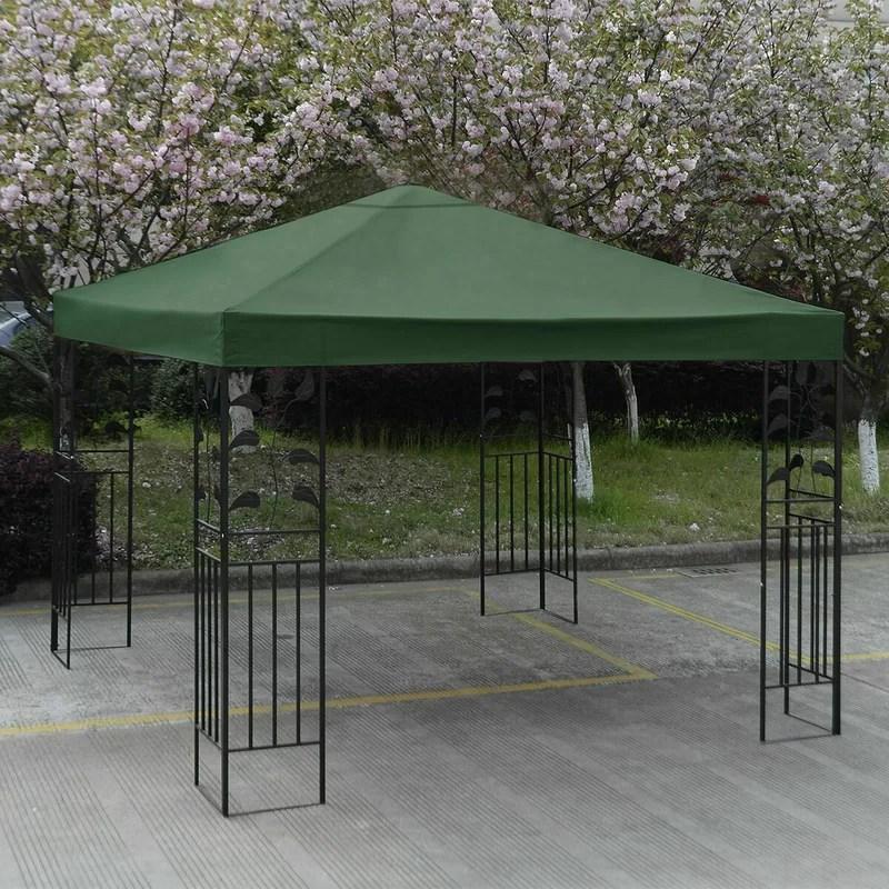 10 ft w x 10 ft d patio canopy