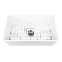 Kitchen Sink Grids Back Splash For Kitchens Nantucket Sinks Cape 30 L X 18 W Farmhouse With Grid