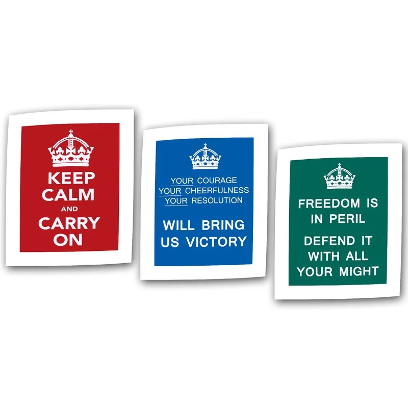 Government of the United Kingdom Textual Art on Rolled Canvas Set Size: 32 H x 24 W