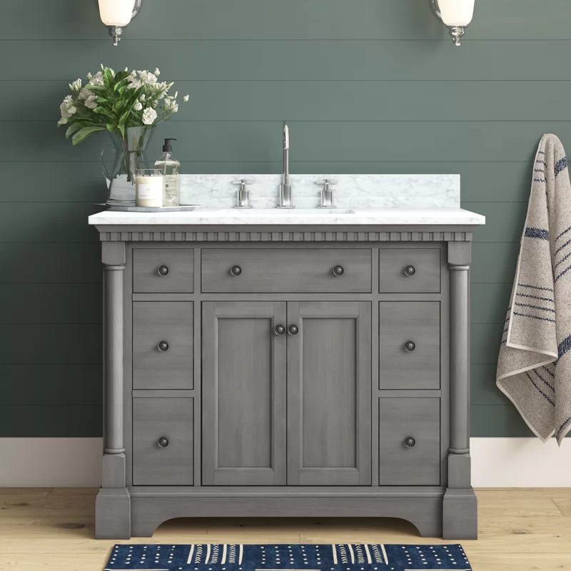 Seadrift 42 Single Bathroom Vanity Set Reviews Joss Main