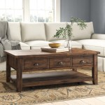 Wellston Solid Wood Coffee Table With Storage Reviews