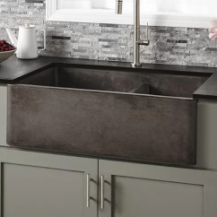 Farmers Kitchen Sink Cost To Redo Native Trails 33 L X 21 W Double Basin Farmhouse Nskd3321 S