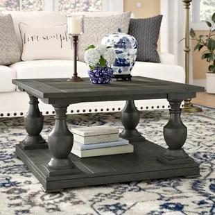 small living room coffee table furniture arrangement tool farmhouse rustic tables birch lane travis