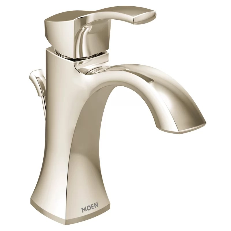 voss 1 handle high arc bathroom faucet with drain assembly