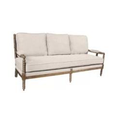 Oatmeal Sofa Memory Foam Sleeper Sofas Linen Wayfair Quickview