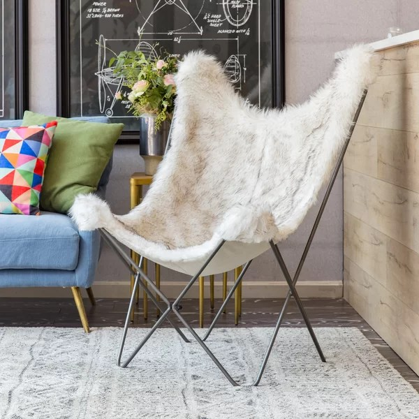 leanback lounger chairs antique upholstered rocking chair styles ivory sherpa faux fur reputable site 4c09e 06196 wayfair quality design 90522 6b2bd