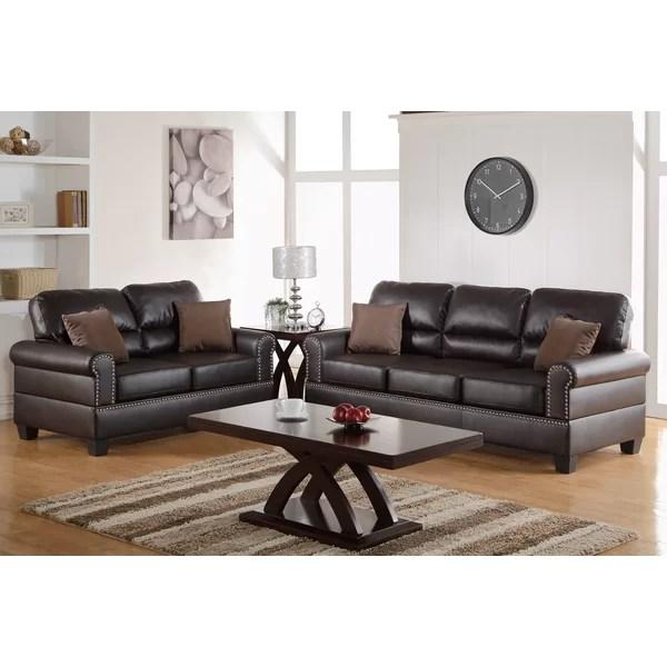 2 piece living room set suites cheap charlton home boyster reviews wayfair