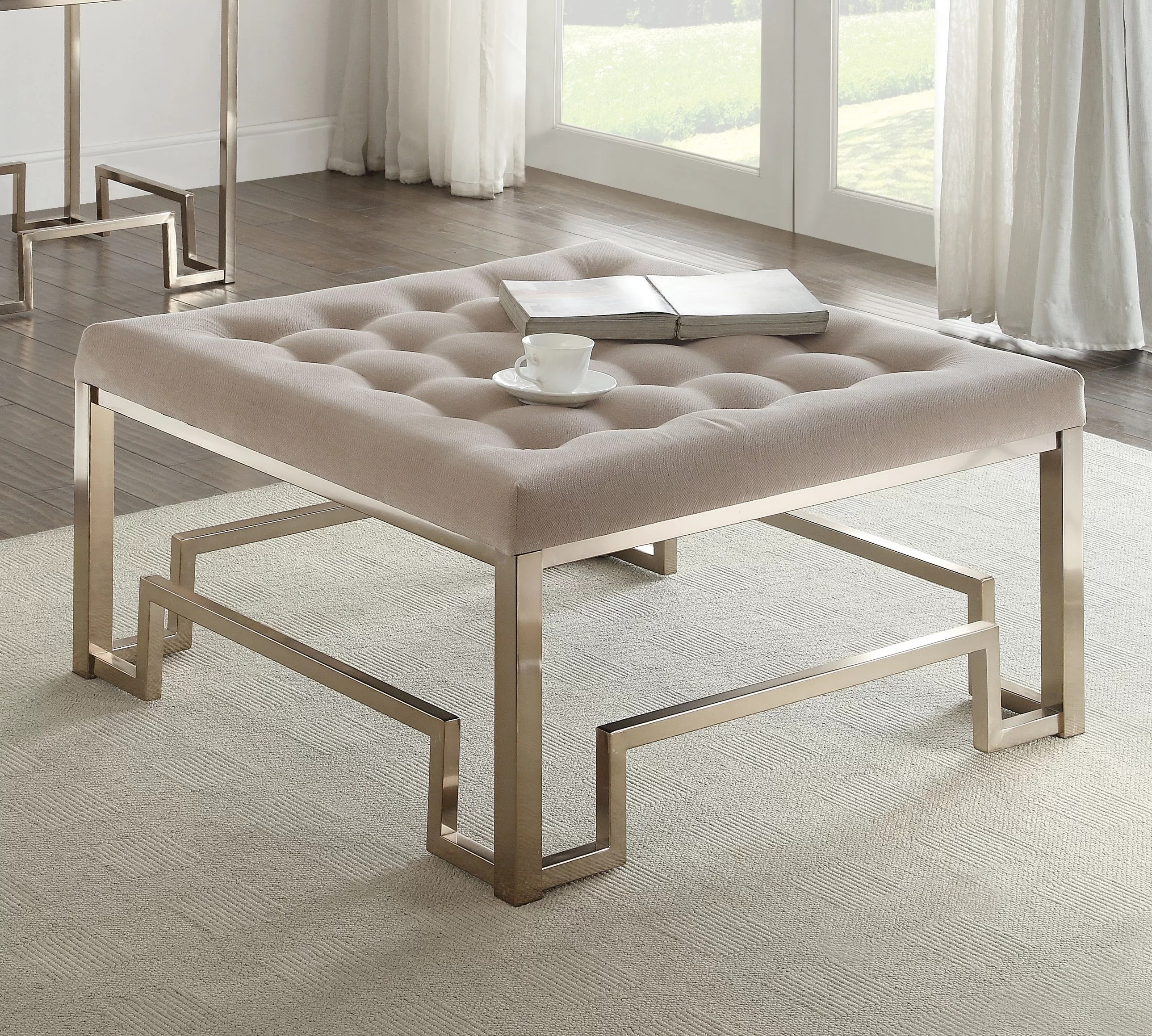 cullompt fabric coffee table