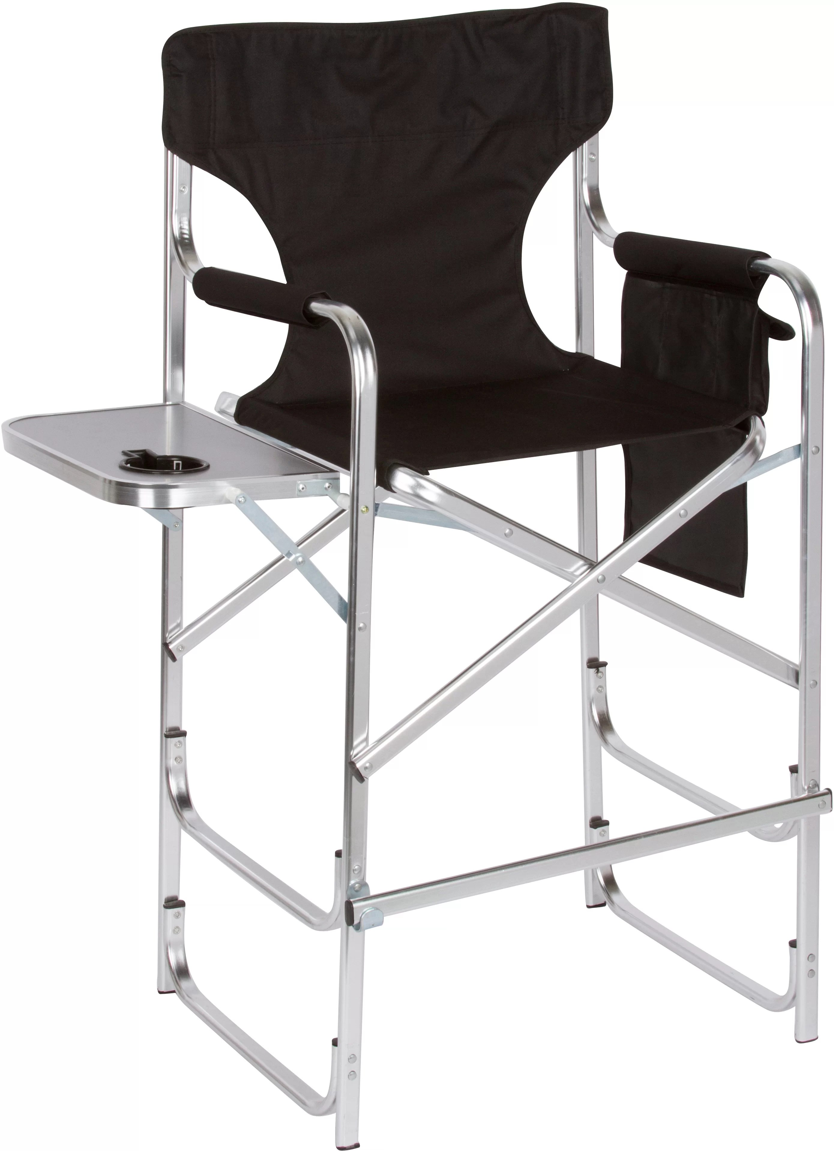 Folding Directors Chair With Side Table Folding Director Chair