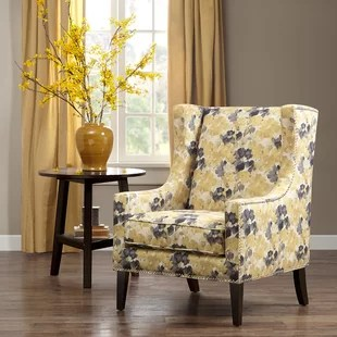 yellow chairs for living room coffee table placement accent birch lane quickview