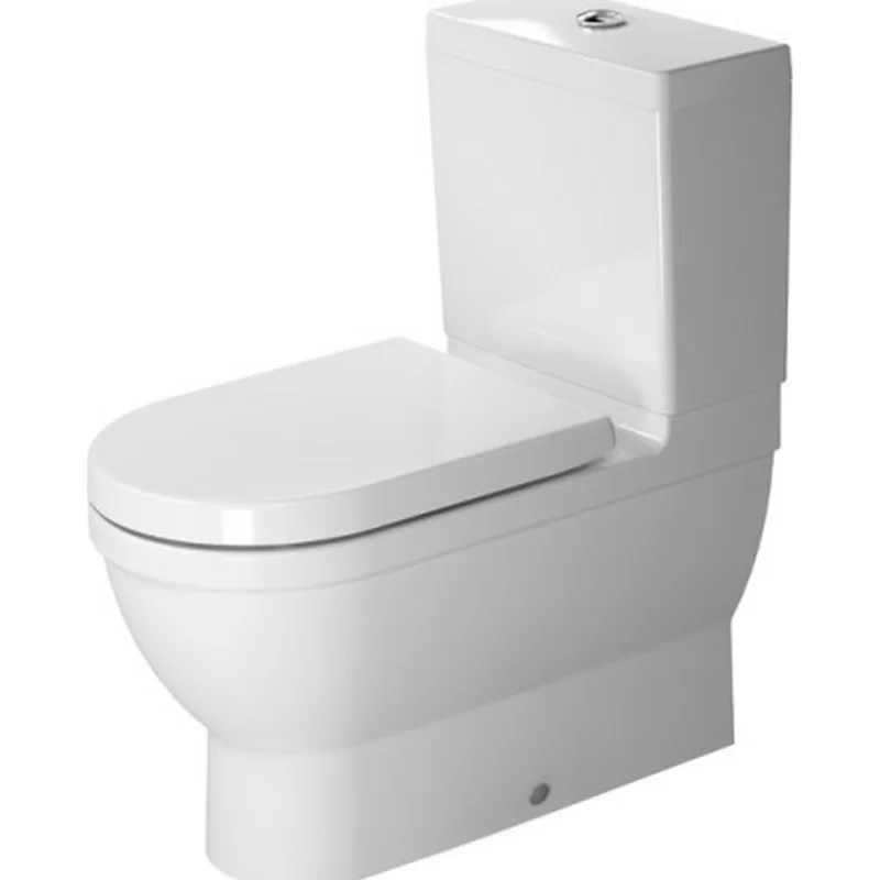 Starck 1.28 Elongated Toilet (Seat Not Included)