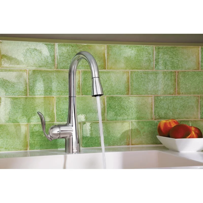 arbor pull down bar faucet with duralock and reflex system