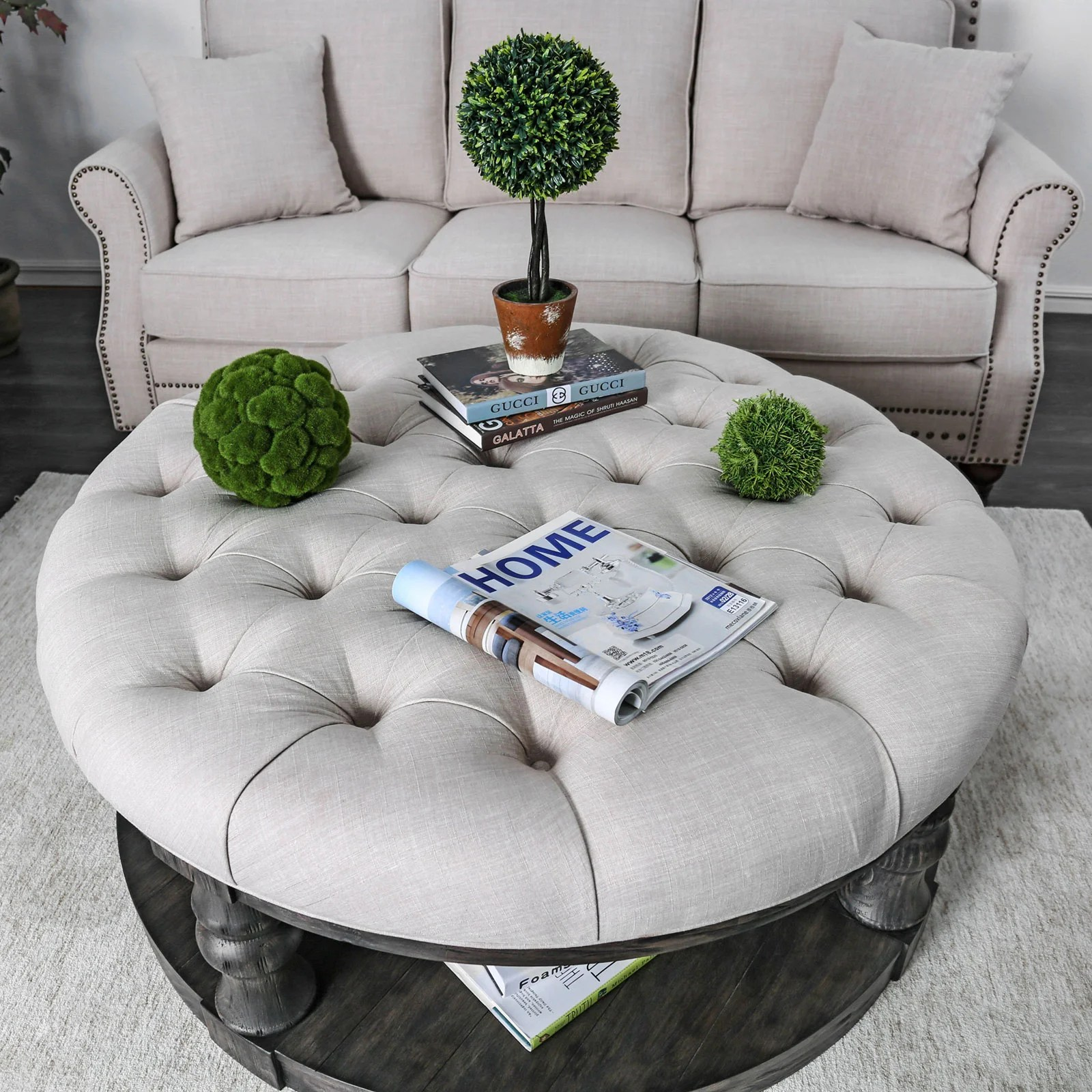 upholstered coffee tables free