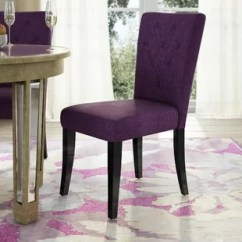 Purple Upholstered Dining Chairs Bedroom Chair Cream Kitchen You Ll Love Wayfair Quickview