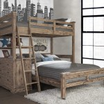 Elise Twin Over Full L Shaped Bunk Bed With 4 Drawer Chest And Lower Bed Joss Main