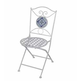 black metal folding garden chairs suv with captain 2018 outdoor chair wayfair tile