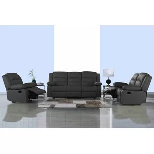 leather living rooms room heaters sets you ll love wayfair quickview