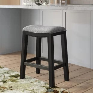 bar stool chair grey professional barber reviews farmhouse stools birch lane quickview