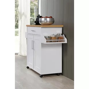 islands for the kitchen pots and pans carts you ll love wayfair quickview