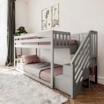 Harriet Bee Kean Twin Over Twin Bunk Bed Reviews