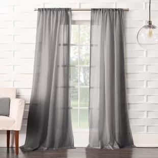 modern rod pocket curtains drapes