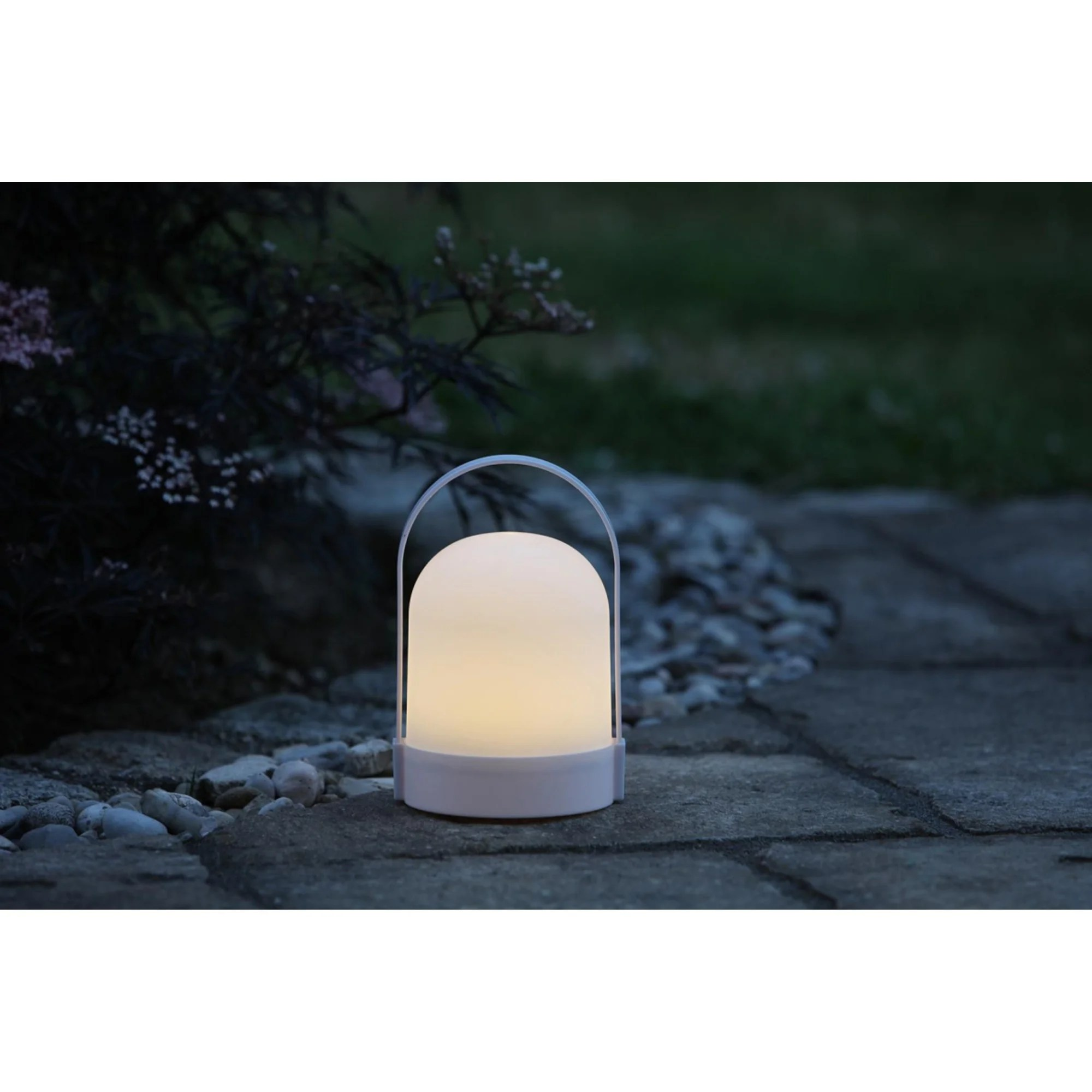 Corrigan Studio Gathers 21cm Battery Powered Led Outdoor Table Lamp Wayfair Co Uk