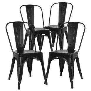 set of chairs toddler wingback chair 4 kitchen dining you ll love wayfair chelsea