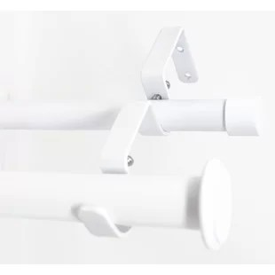 cothern drapery window double curtain rod