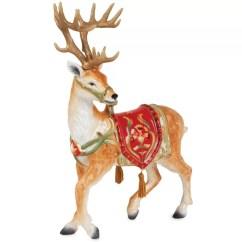 Wayfair Kitchen Stools Handles Black Fitz And Floyd Bellacara Deer Figurine & Reviews |