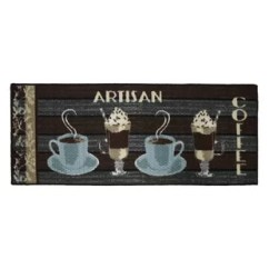 Long Kitchen Rugs Cute Decor Wayfair Textured Loop Artisan Coffee Area Rug