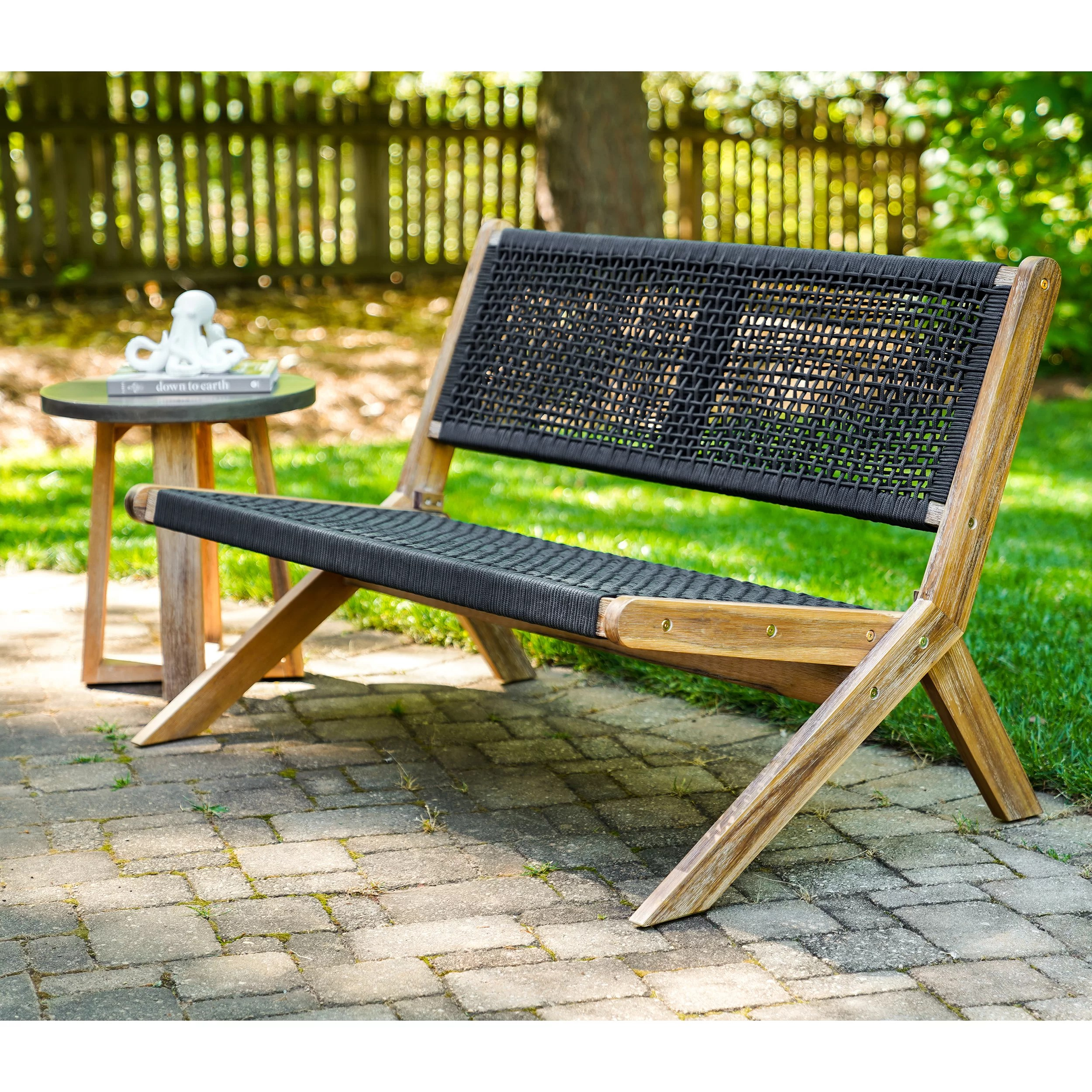 havell 47 25 wide outdoor patio sofa