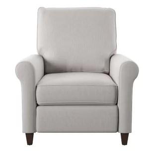 stunning steel chair attacks posture with fabric high leg recliner wayfair quickview