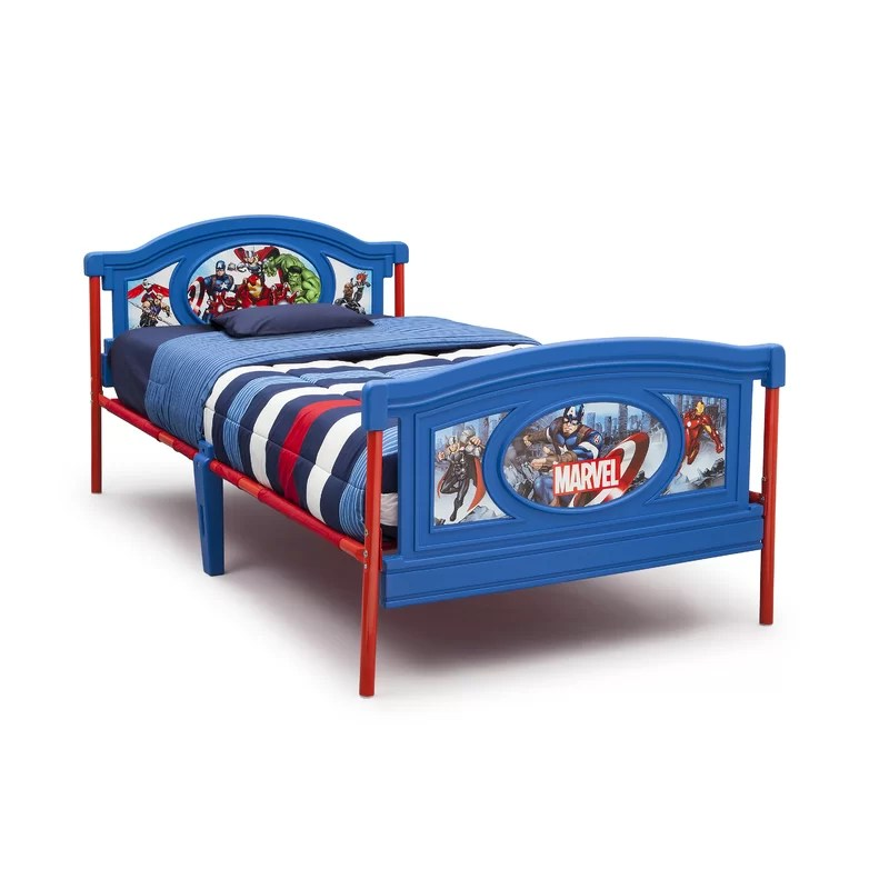 Avengers Twin Panel Bed