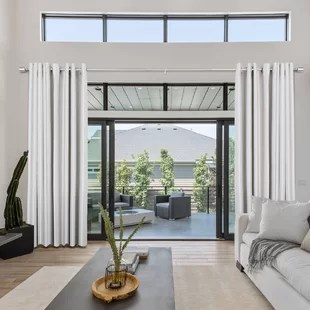 slover adjustable single curtain rod