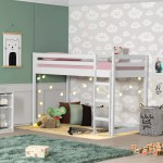 Isabelle Max Ackerly Twin Low Loft Bed Reviews
