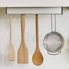 Kitchen Utensil Rack Roll Away Island Hanging Wayfair Float Wall Mounted