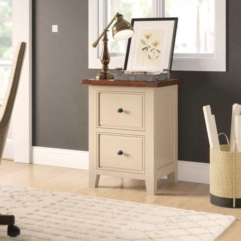 Harris 2-Drawer Vertical Filing Cabinet