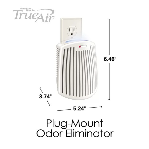 Hamilton Beach TrueAir Plug-Mount Odor Eliminator with