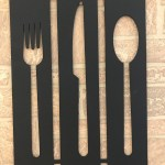 Winston Porter Fork Knife And Spoon Wall Decor
