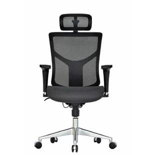 lumbar support office chair bungee chairs target you ll love wayfair ergonomic mesh task